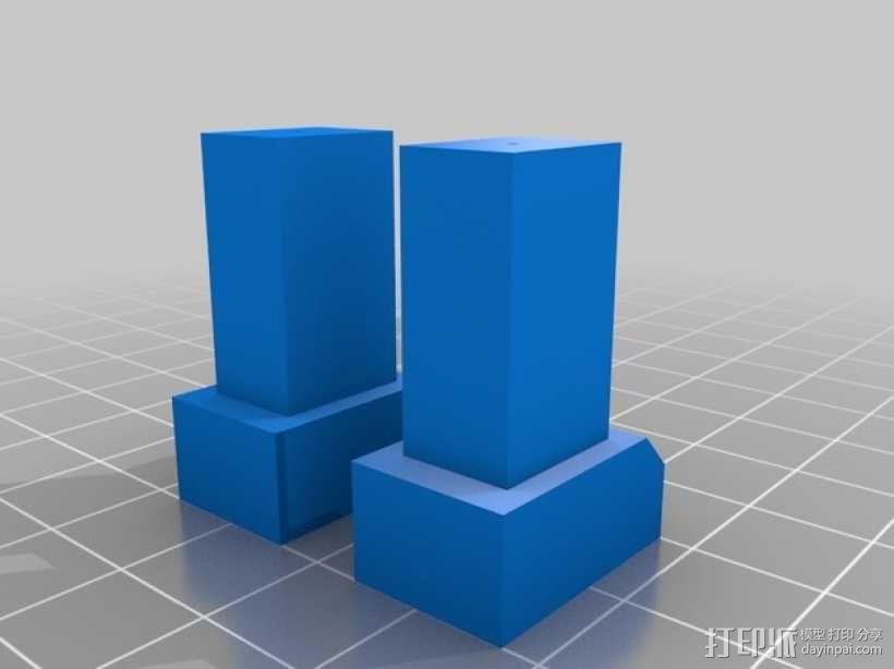FezBot 机器人 3D模型  图3