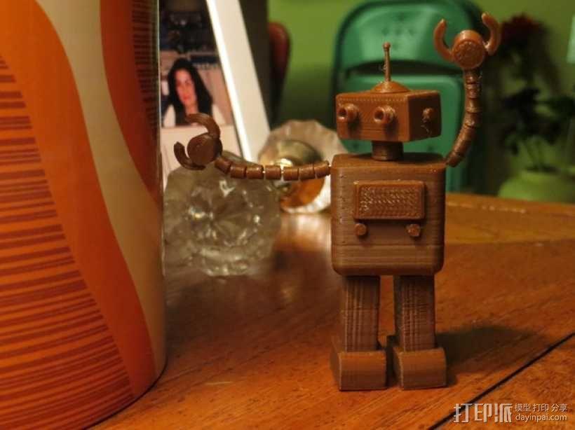 FezBot 机器人 3D模型  图1