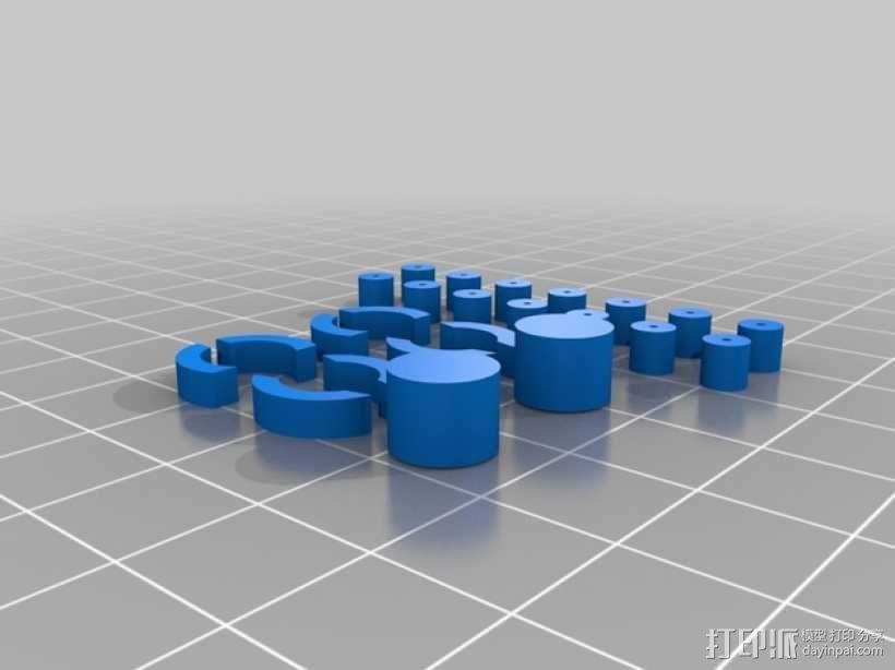 FezBot 机器人 3D模型  图5