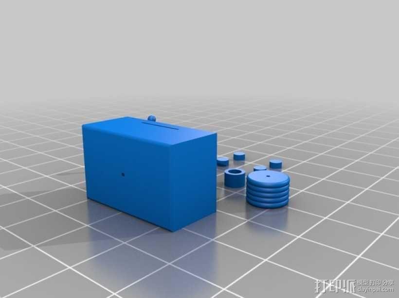 FezBot 机器人 3D模型  图6