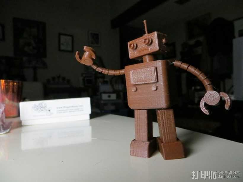 FezBot 机器人 3D模型  图7