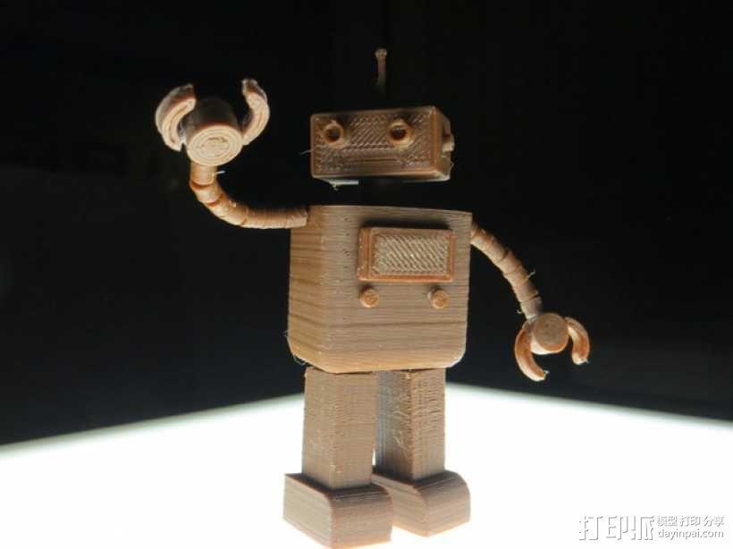 FezBot 机器人 3D模型  图8