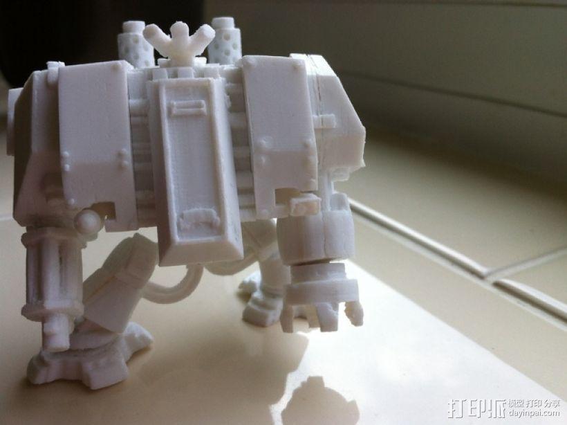 无畏者机器人 3D模型  图1