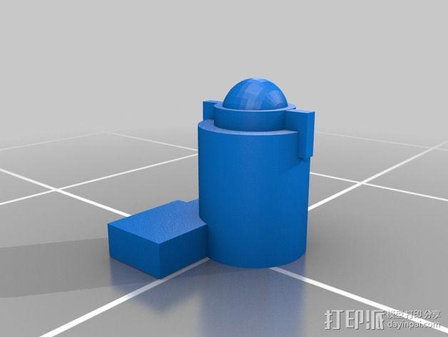 无畏者机器人 3D模型  图3