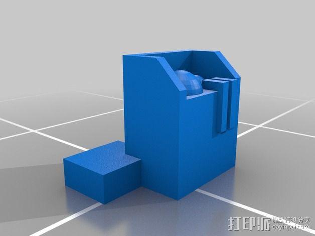 无畏者机器人 3D模型  图2