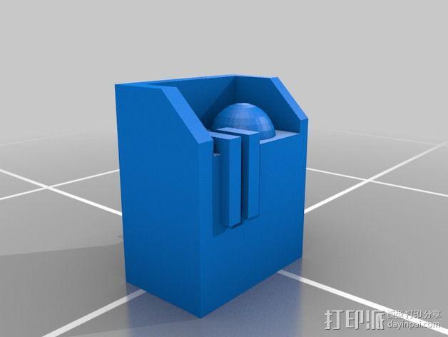无畏者机器人 3D模型  图4