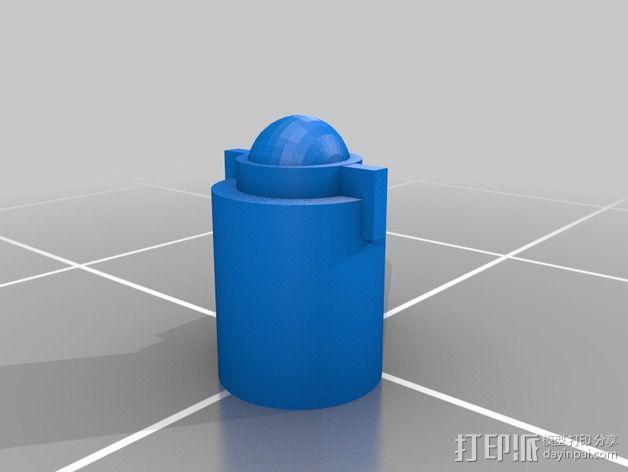 无畏者机器人 3D模型  图5
