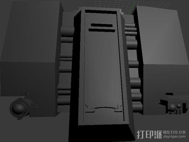 无畏者机器人 3D模型  图6