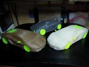 Lamborghini Aventador兰博基尼跑车 3D模型