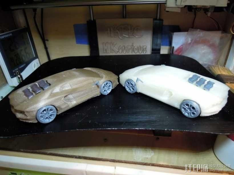 Lamborghini Aventador兰博基尼跑车 3D模型  图8