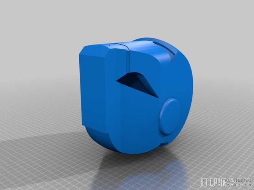 钢铁侠头部模型 3D模型  图2