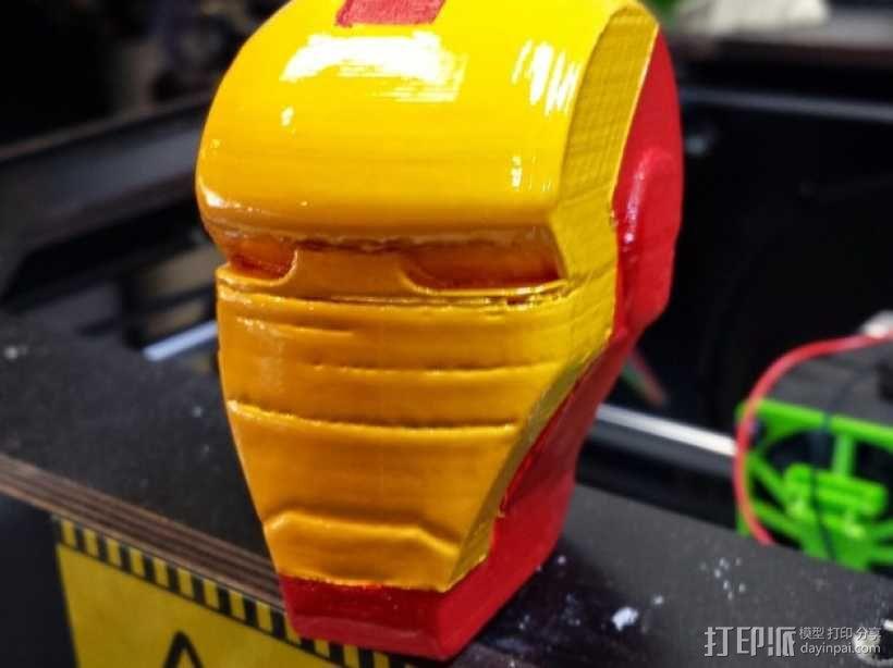 钢铁侠头部模型 3D模型  图3