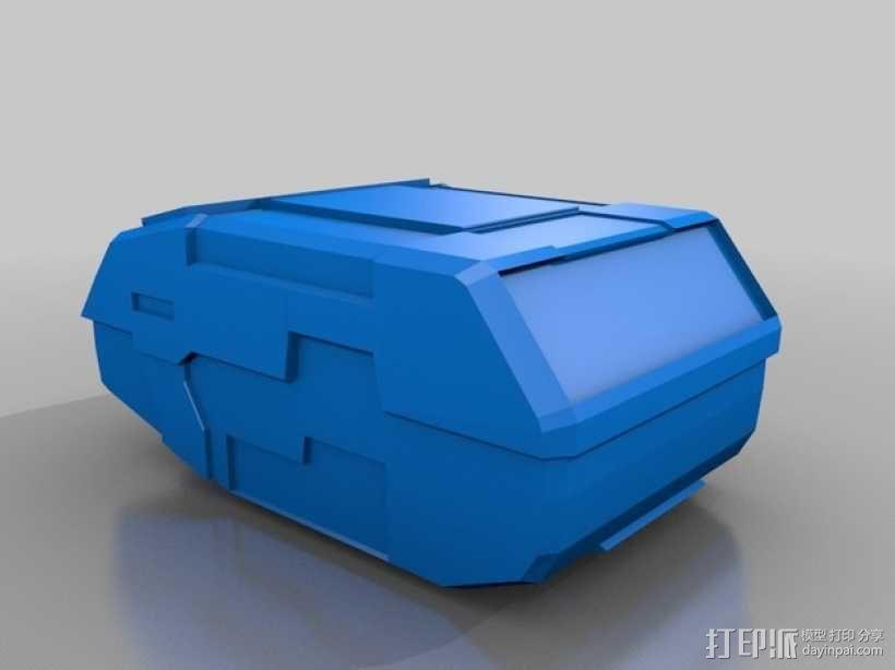 合金装备机甲 3D模型  图4