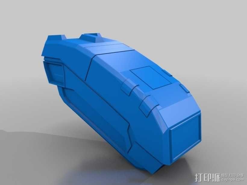 合金装备机甲 3D模型  图6