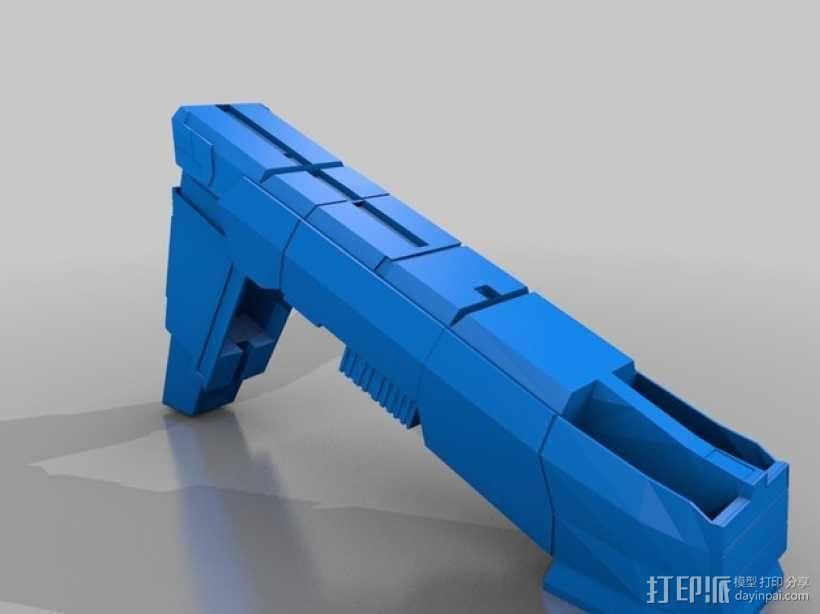 合金装备机甲 3D模型  图7