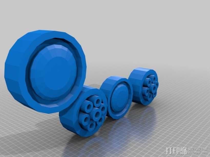 合金装备机甲 3D模型  图8