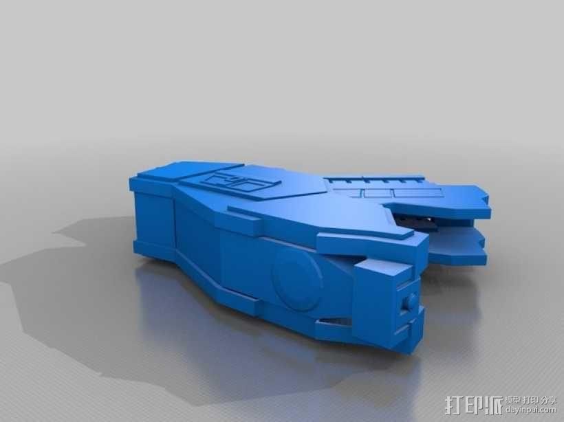 合金装备机甲 3D模型  图10