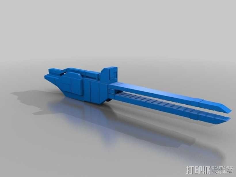 合金装备机甲 3D模型  图13