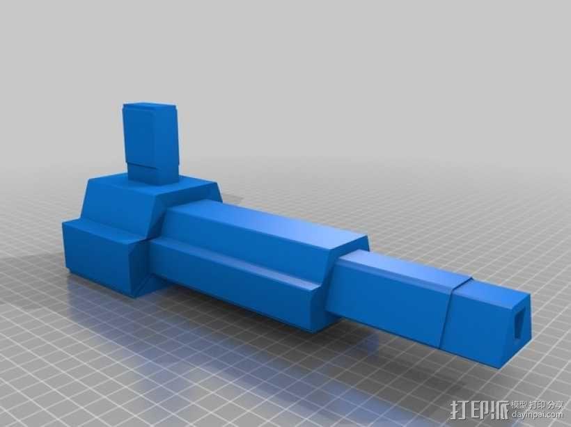合金装备机甲 3D模型  图15
