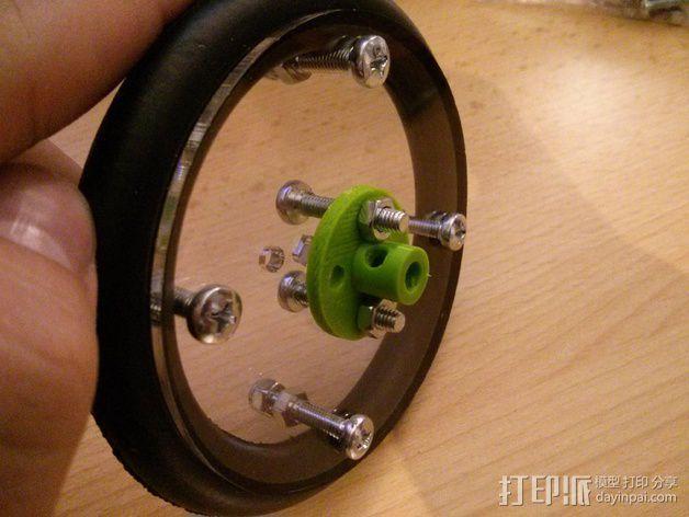 马达轮座 3D模型  图5