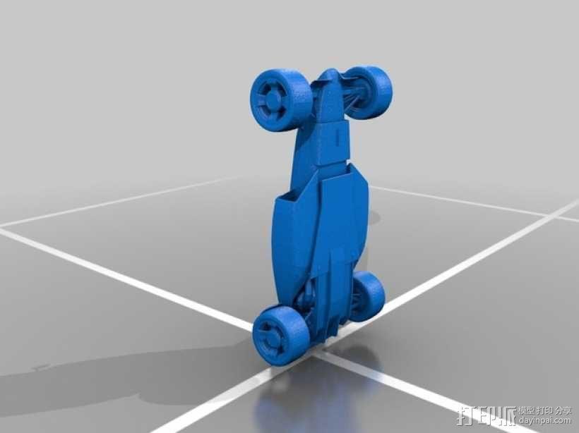赛车模型 3D模型  图2