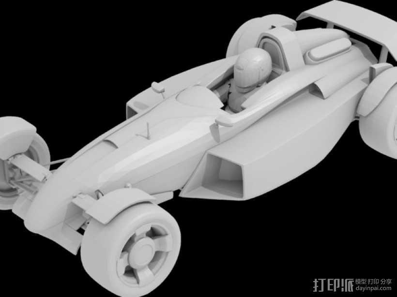 赛车模型 3D模型  图1
