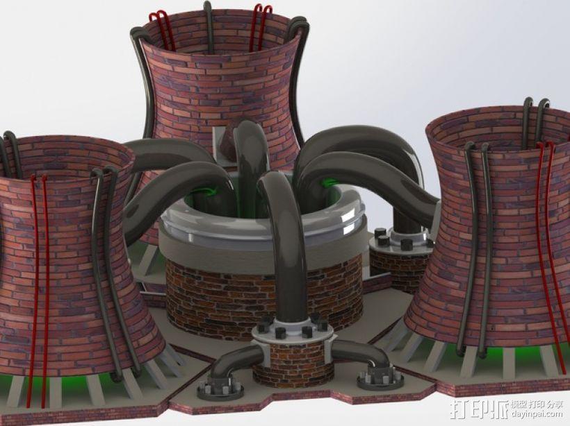 核电站 3D模型  图5