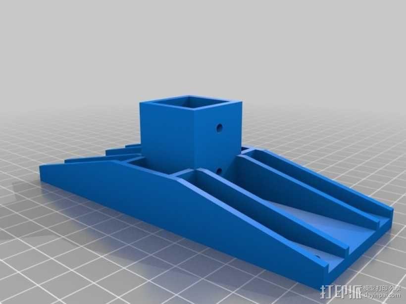 螺旋桨推力计 3D模型  图4
