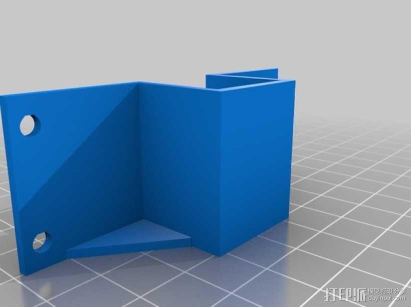 螺旋桨推力计 3D模型  图6