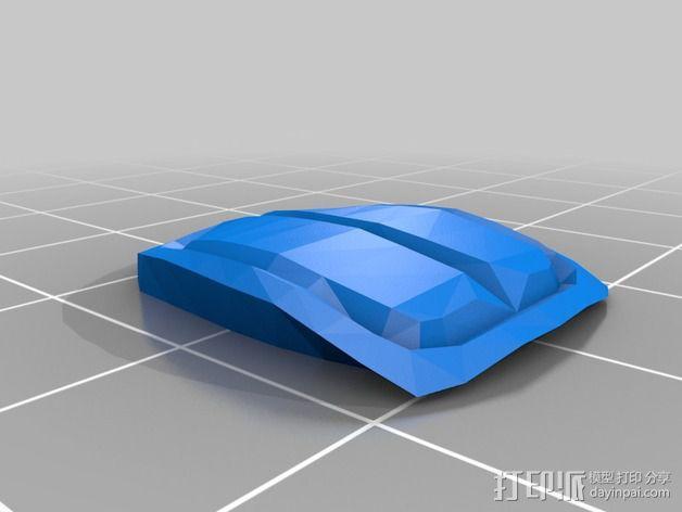经典敞篷跑车 3D模型  图10