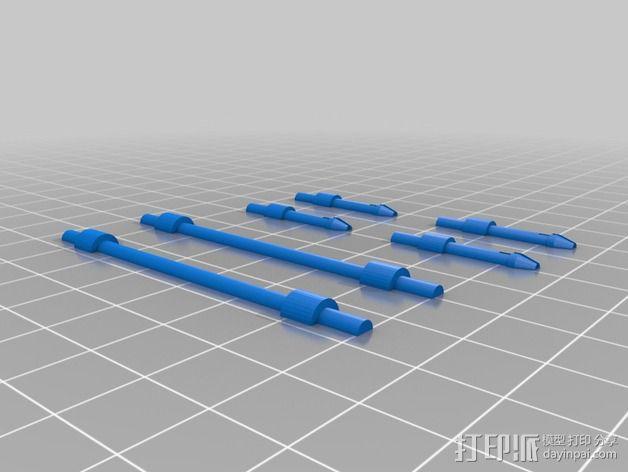 经典敞篷跑车 3D模型  图14