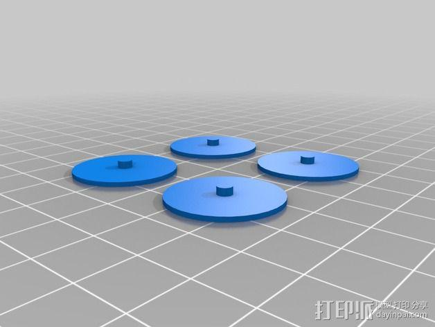 经典敞篷跑车 3D模型  图13