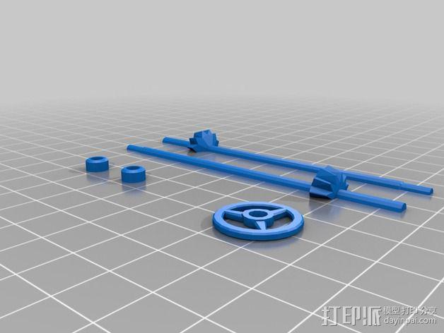 经典敞篷跑车 3D模型  图16