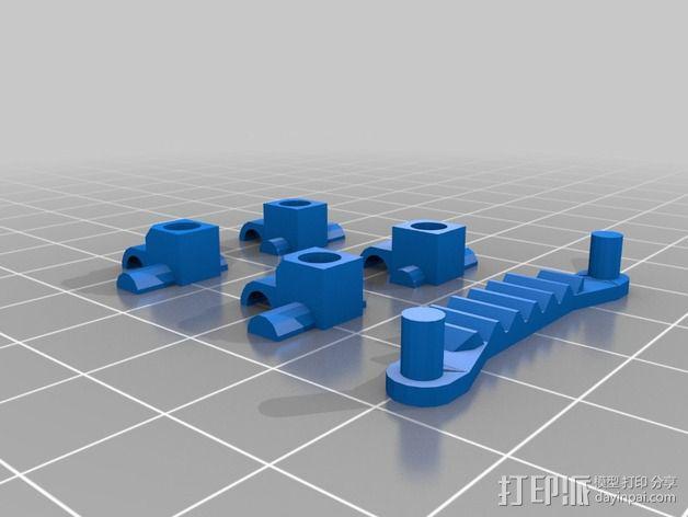 经典敞篷跑车 3D模型  图15