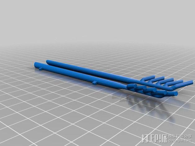 经典敞篷跑车 3D模型  图17