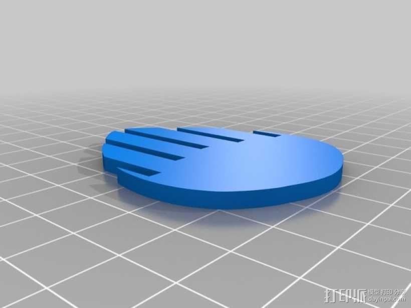 拼组马 3D模型  图5