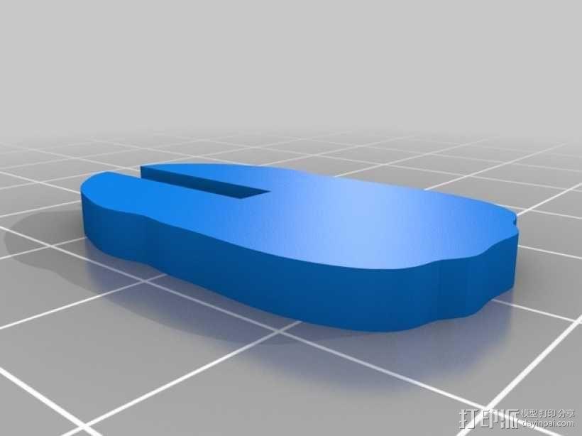拼组马 3D模型  图6