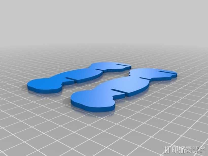 拼组马 3D模型  图12
