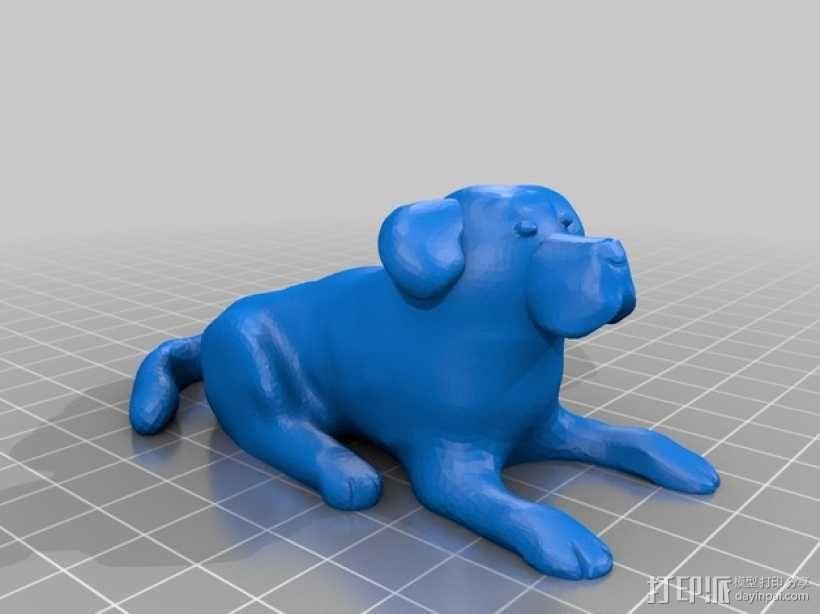 小狗 3D模型  图4
