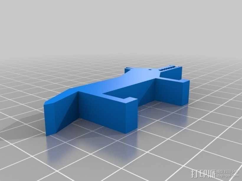 狐狸 3D模型  图1