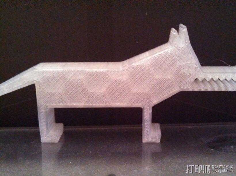 狐狸 3D模型  图2