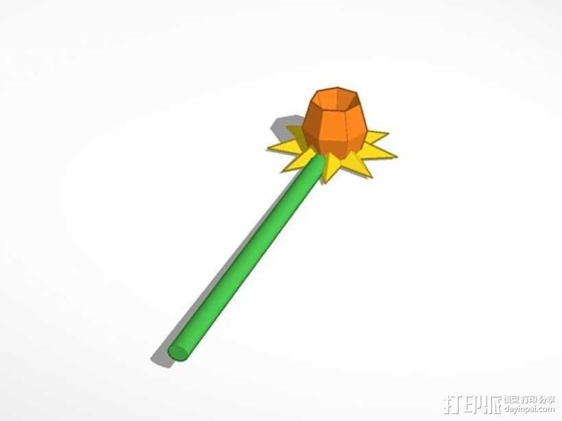 水仙花 3D模型  图1