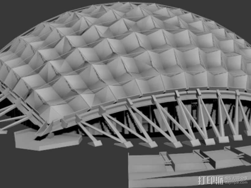 卡拉特拉瓦体育场 3D模型  图4