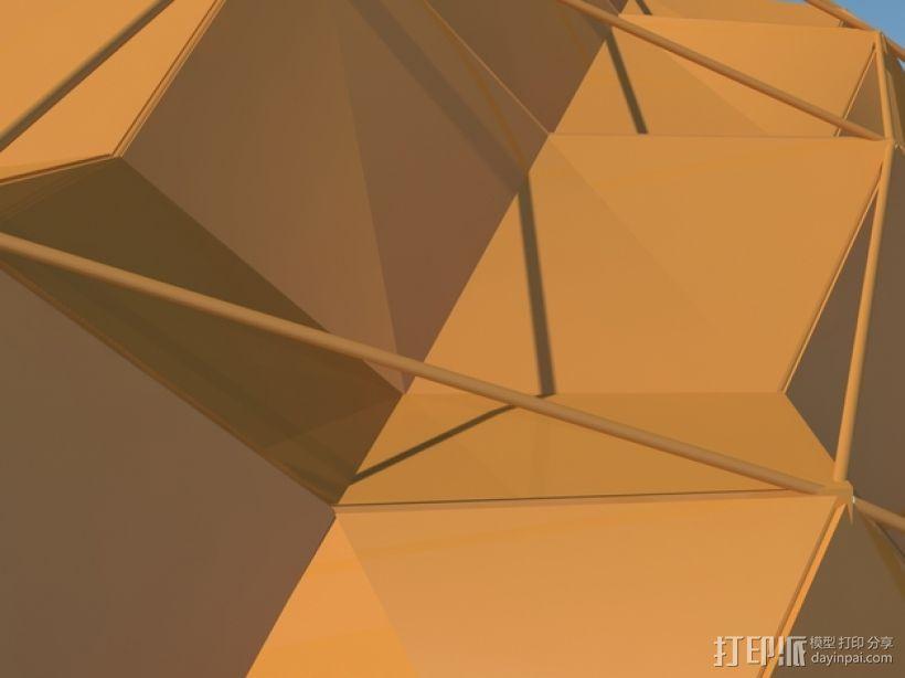 卡拉特拉瓦体育场 3D模型  图6