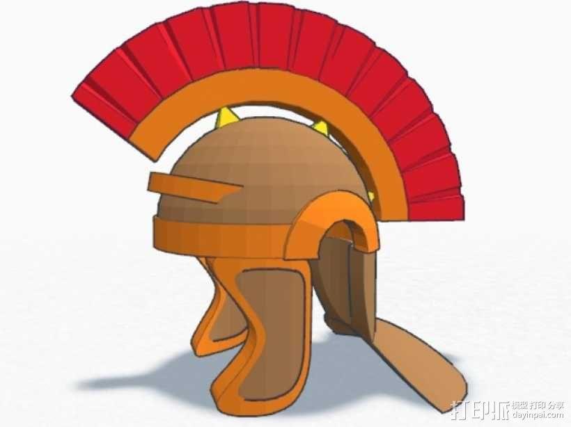 罗马人头盔 3D模型  图1