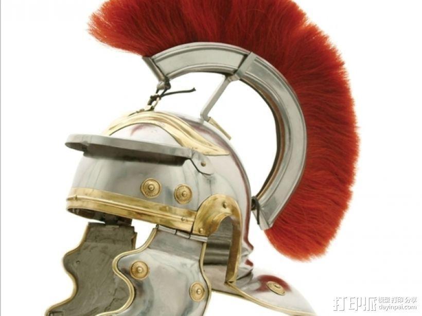 罗马人头盔 3D模型  图3