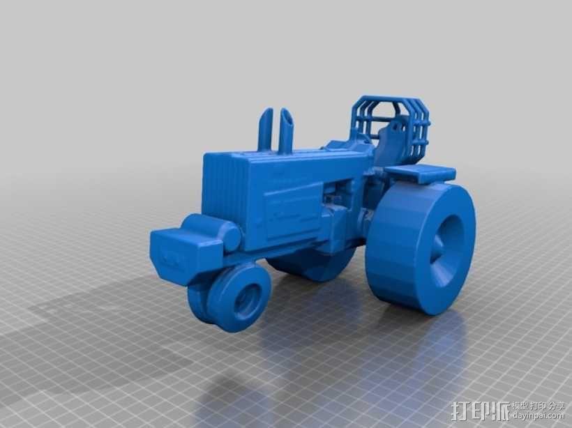 法摩尔拖拉机 3D模型  图5
