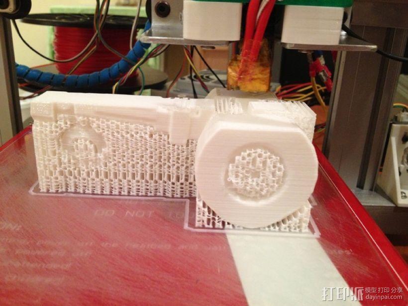 法摩尔拖拉机 3D模型  图4