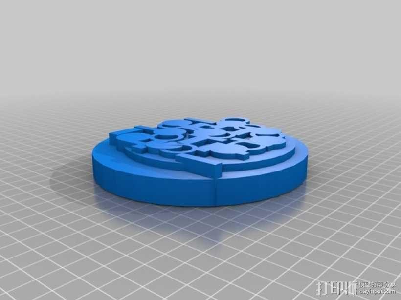 披萨 3D模型  图2
