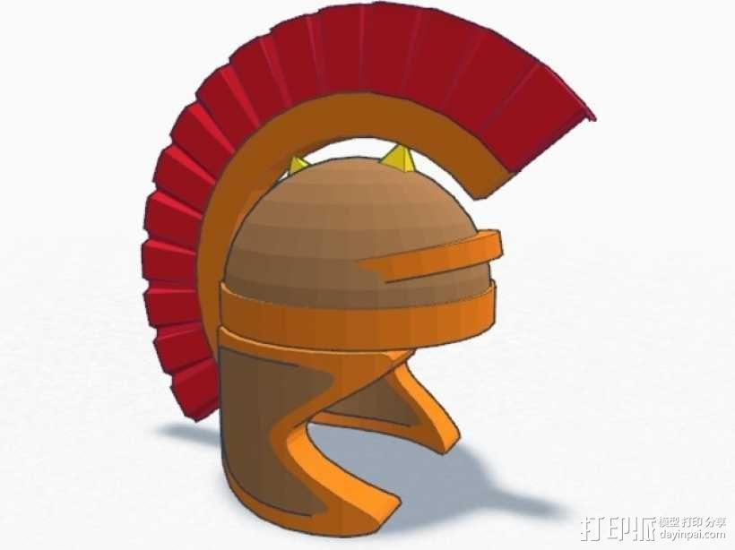 罗马人的头盔 3D模型  图1